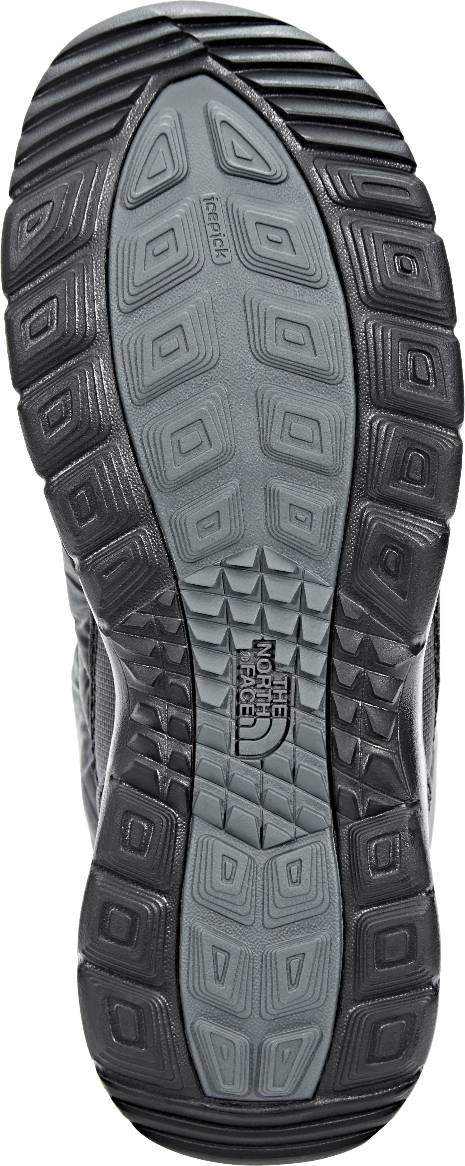 a62ad266 The North Face Thermoball Lace II Shoes Damen shiny tnf black/iron gate grey